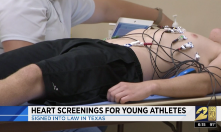 In Texas, it'll be even easier to get your student-athletes a better heart test