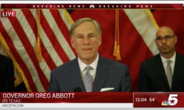 Gov. Abbott Announces Texas Schools To Remain Closed For Remainder of 2019-2020 School Year