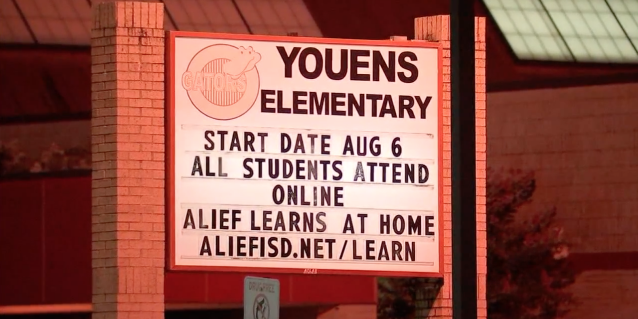Alief ISD starts first day of school with virtual learning